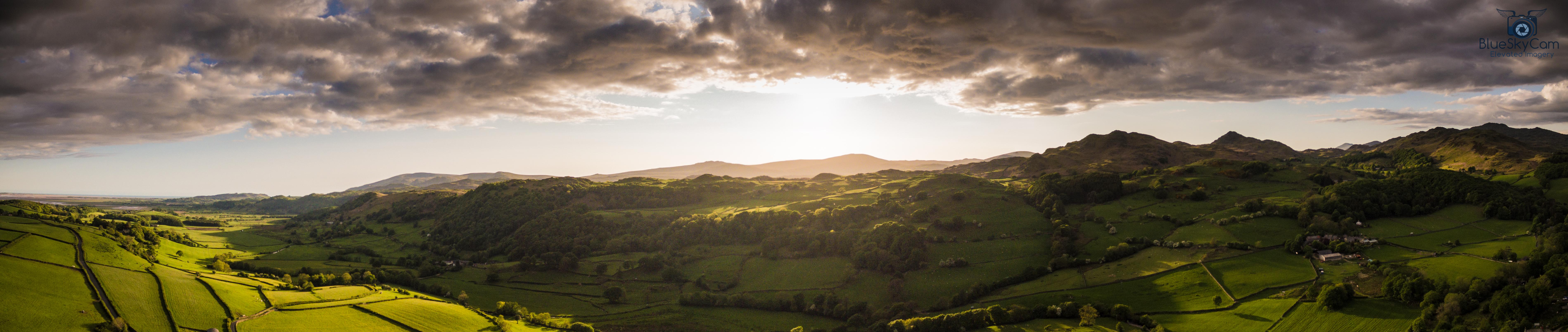 Lake District pano