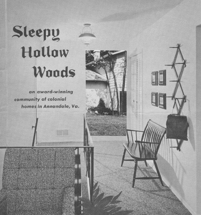 Sleepy Hollow Woods Sales Brochure