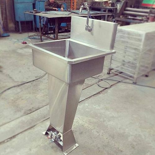Lavamanos tipo pedestal Jumbo valvula sencilla