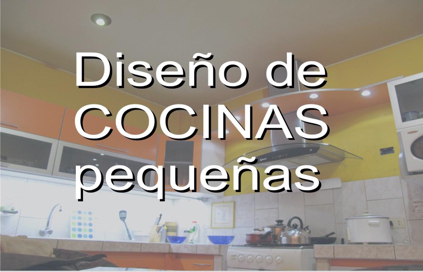 Diseno de cocinas peque as for Diseno para cocina comedor