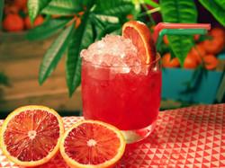 Gin and Sicilian Blood Orange Juice
