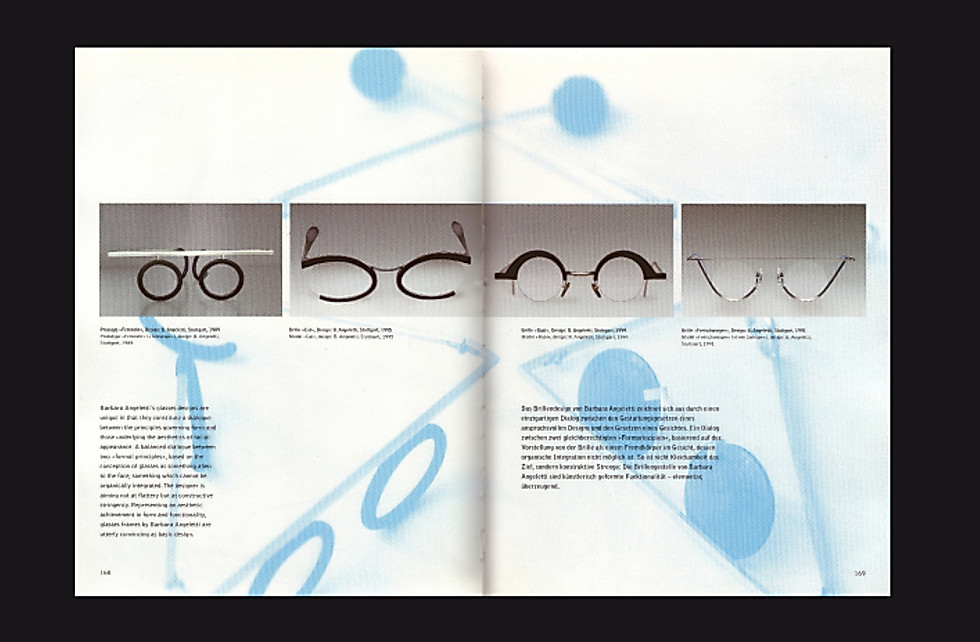 Brillen | Spectacles Doppelseite