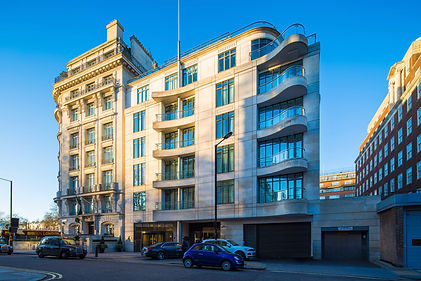 A column cover is a modern architecture building in London