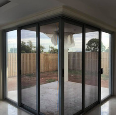 Corner Sliding Security Doors