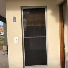 Security Screen for Double Hung Window