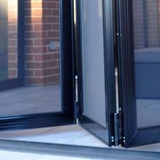 Bi-fold Security Screen Doors