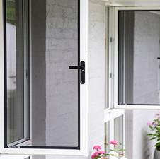 Stainless Steel Corner Stacker Doors
