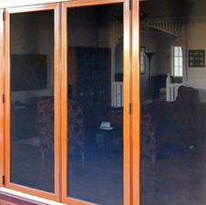 Screenguard Bi-fold Security Screen Doors