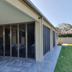 Bi-folds and Slider Security Screens