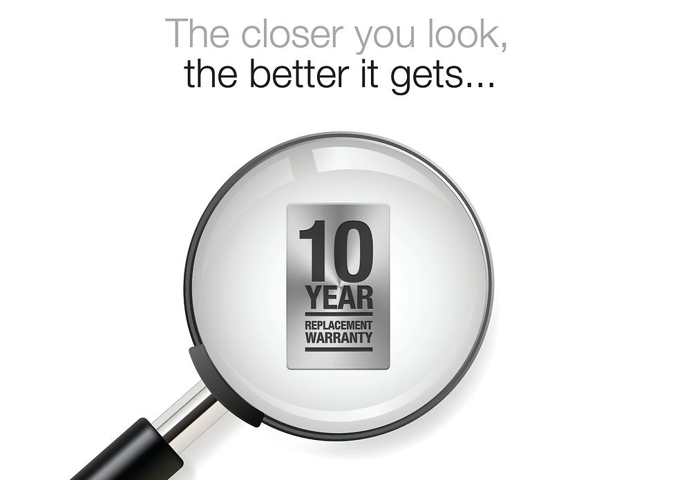 10 year Warranty Prowler Proof Security Screens Qld Brisbane Logo