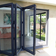 Bi-Fold Security Screen Doors