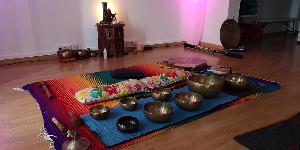 Concierto Meditativo, lluvia de sonidos y vibración armónica
