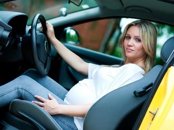 Conducción estando embarazada