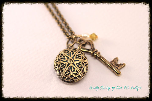 Unlock The New Me Aromatherapy Locket