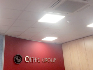 Winstanley Electrical refit Oltec Group Head Office with LED Lights.