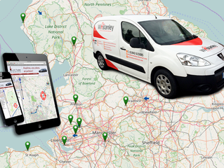 Winstanley Electrical install trackers to their ever growing fleet.