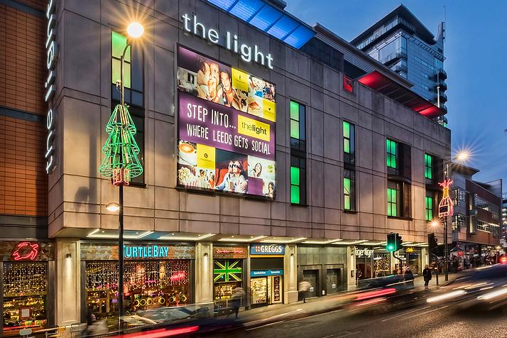 Leeds The Light Shopping centre