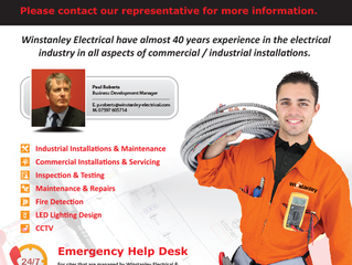 Winstanley Electrical Provides Services Within The North West
