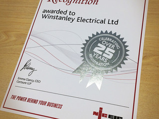 On-going Commitment to Electrical Excellence