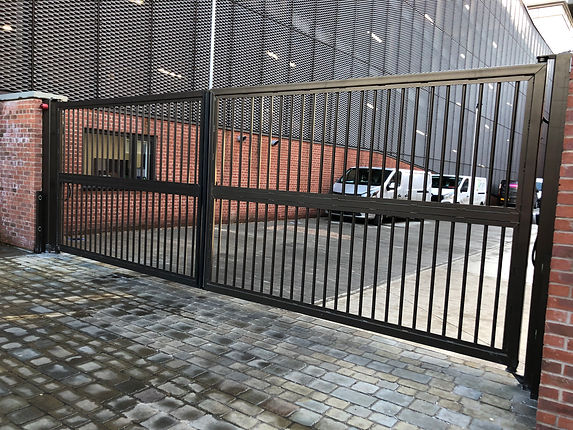 Security gates replaced in Leeds
