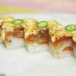 BBQ Oshi Sushi