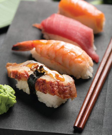Sushi Island Victoria Menus