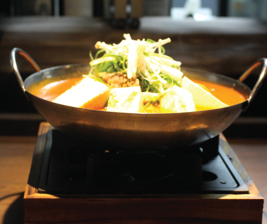 Ddenjang hot pot