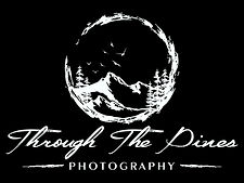 Through The Pines Photography Logo white