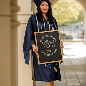 Verenice Graduation Portraits