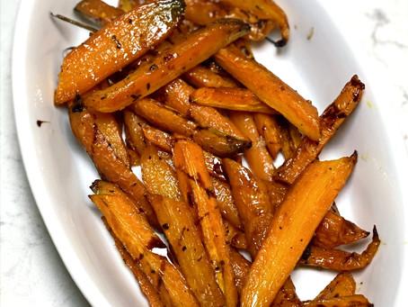 Ina's Charred Carrots
