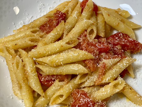 Penne with Roasted Tomatoes
