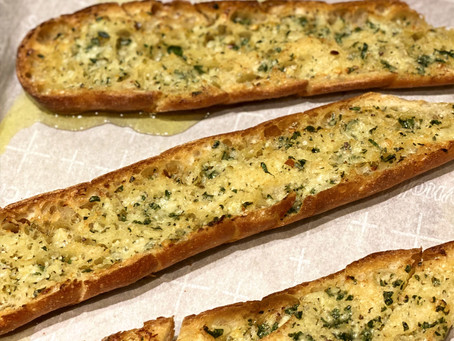 Ina's Outrageous Garlic Bread