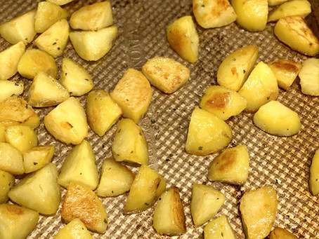 Ina (and Emily)'s English Roasted Potatoes