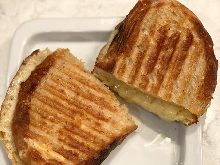 Ina's Cheddar & Chutney Grilled Cheese