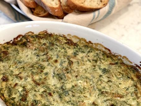 Ina's Warm Spinach & Artichoke Dip