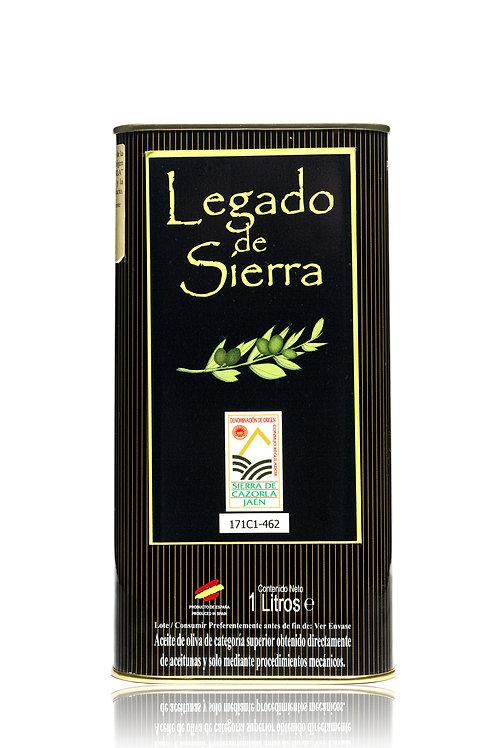 Aceite Oliva Virgen Extra Picual 1Lt (lata) Legado De Sierra