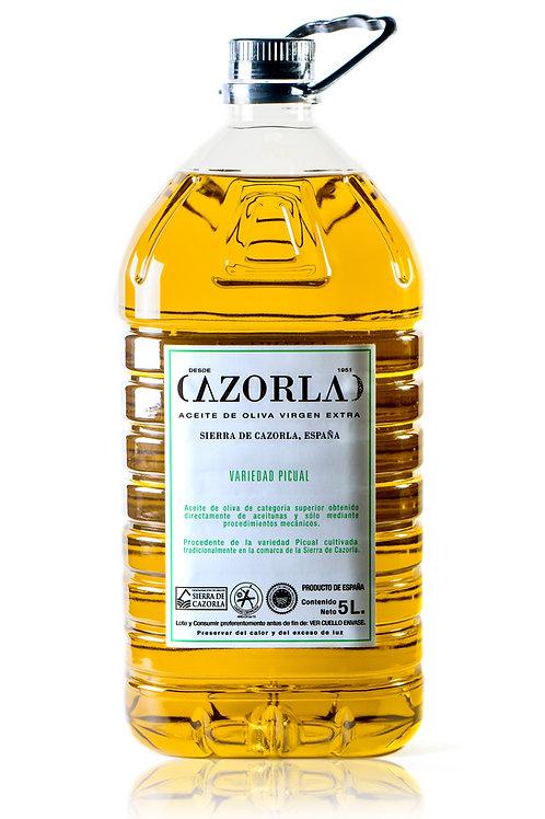 Aceite Oliva Virgen Extra PICUAL 5Lts Cazorla