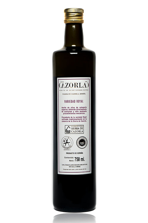 Aceite Oliva Virgen Extra ROYAL 750ml Cazorla