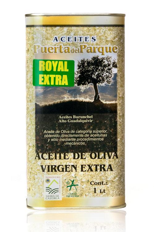 Aceite Oliva Virgen Extra ROYAL y PICUAL 1Lt(lata) Puerta del Parque