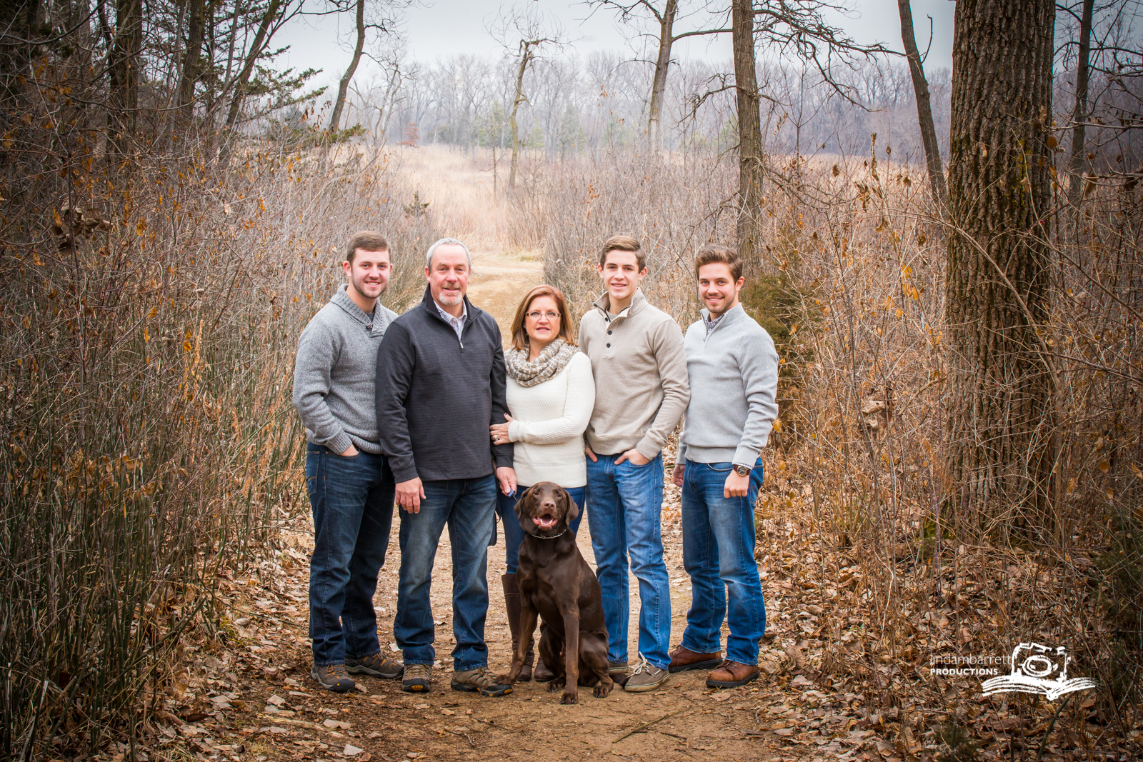 Family outdoor portrait