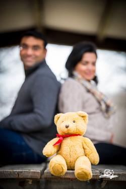 vinita, bear,outdoor maternity