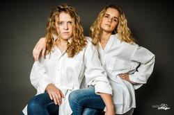 best friends_white shirts