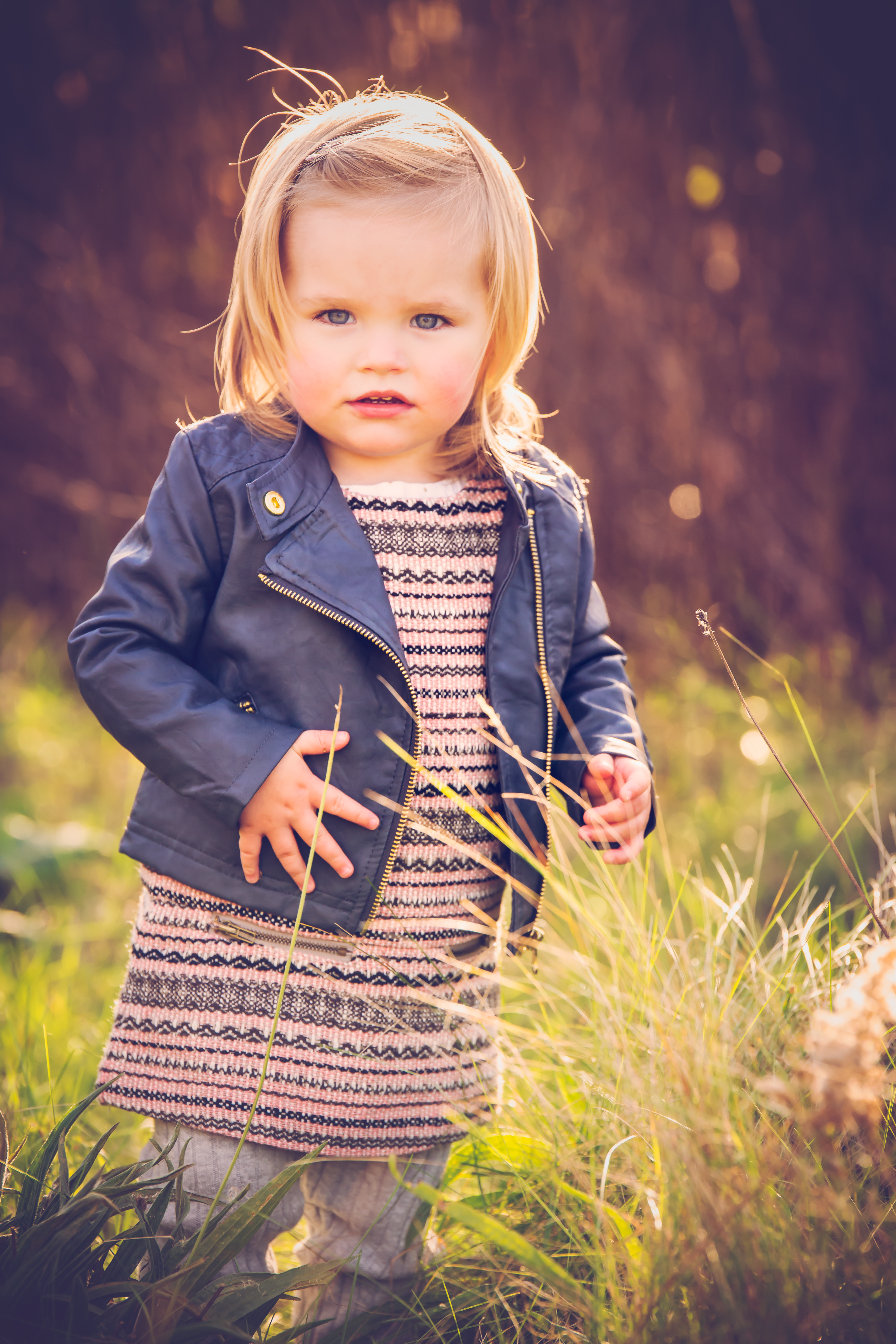 kid outdoor portraits