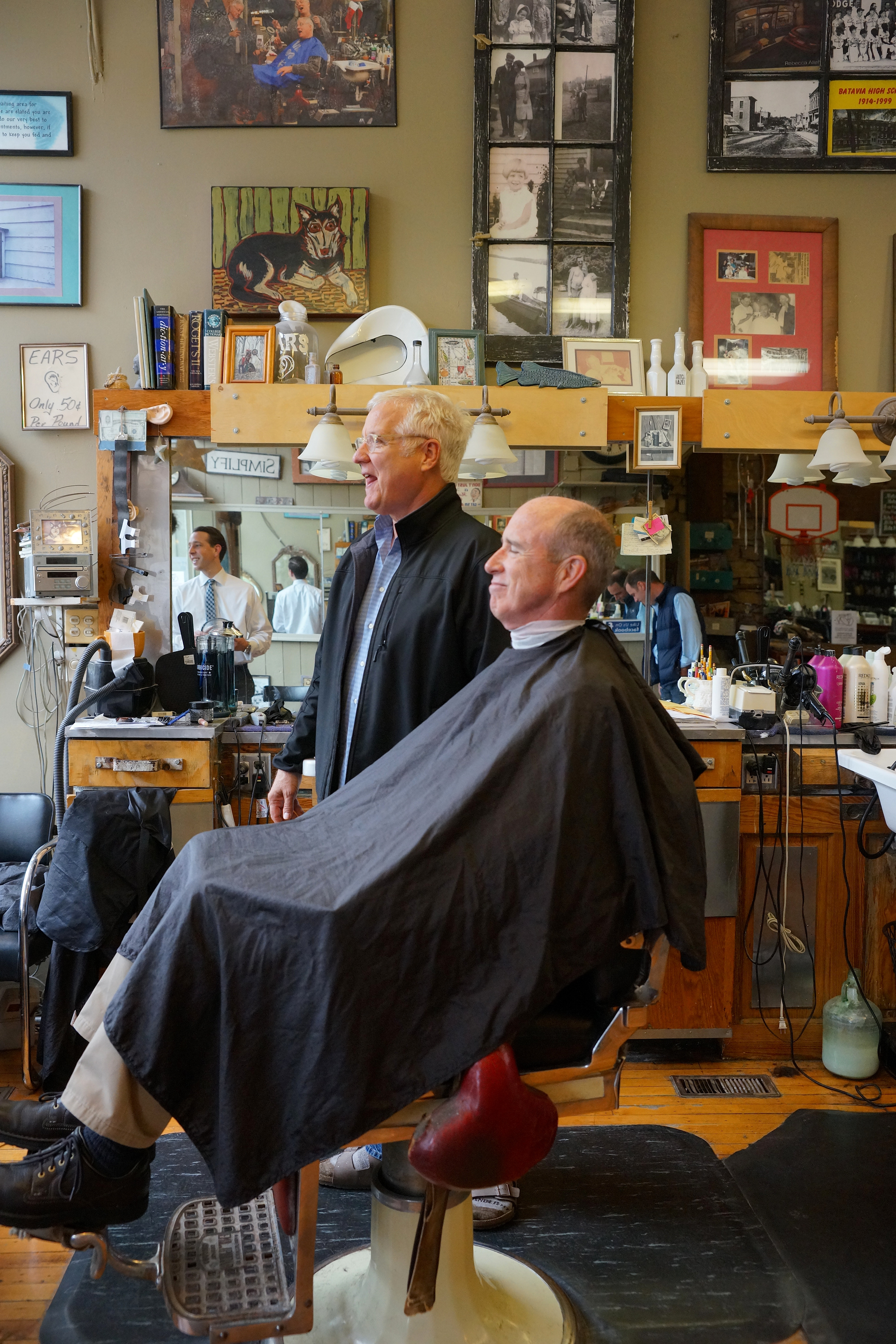 barbershop lifestyle photography