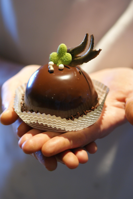 glazed chocolate