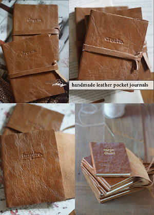 dream - handmade leather book