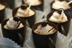 chocolate liquor cups photography