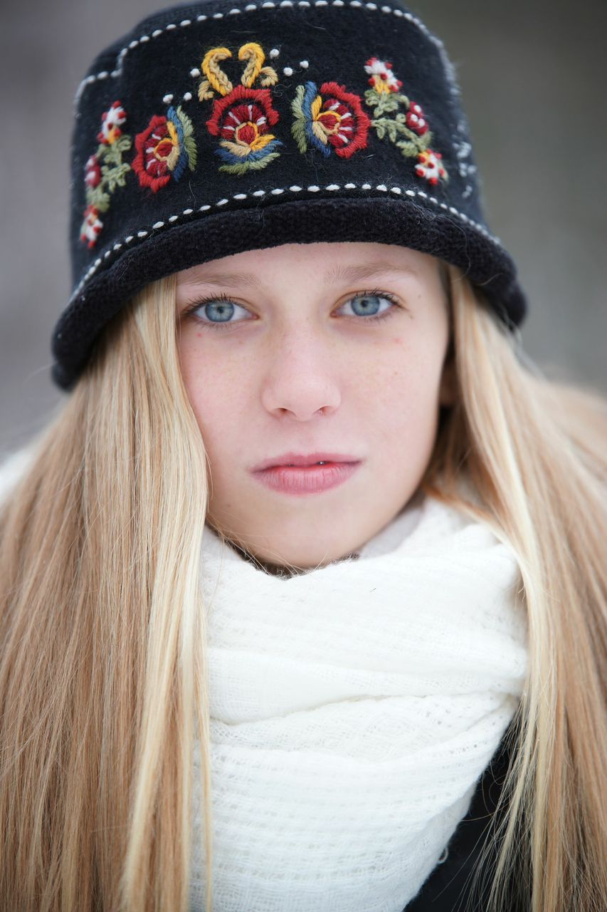 Regan winter portaits