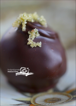 ethereal chocolate truffles_green fairy_