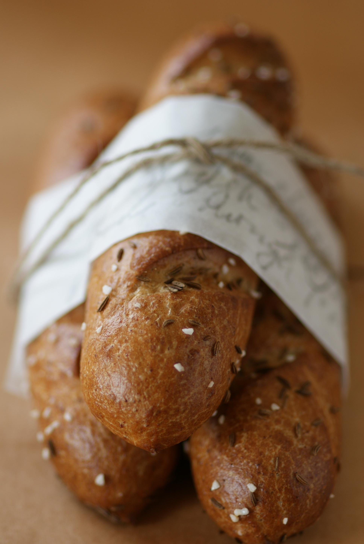 fresh sesame bread